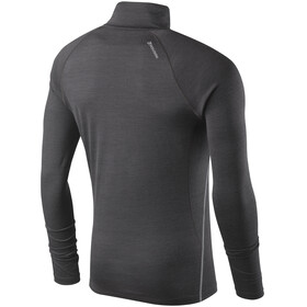 Houdini Airborn Zip Shirt Men Bleached Black